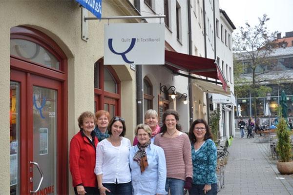 Links vorne Karin Reichert, Sandra Lindner, Eva Gaude, Verena Ehrhardt, Links hinten Ulrike Bernhöft, Christine Köhne