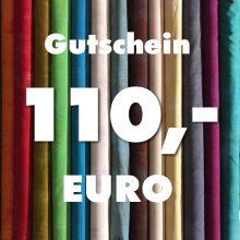 Gutschein über 110 Euro