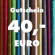 Gutschein über 40 Euro