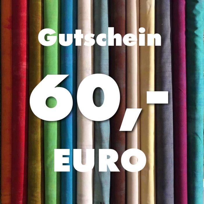 Gutschein über 60 Euro