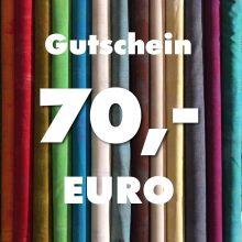 Gutschein über 70 Euro