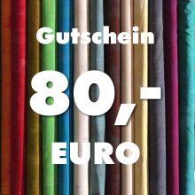 Gutschein über 80 Euro