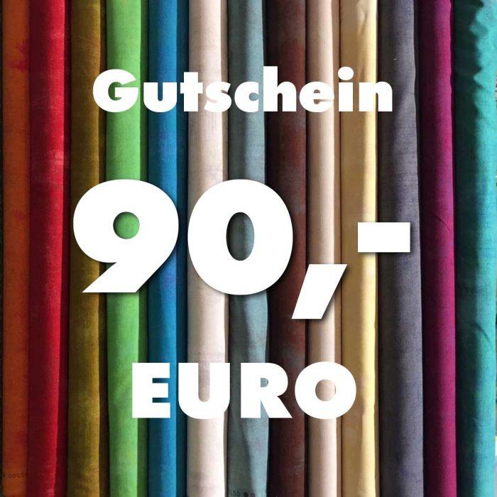 Gutschein über 90 Euro