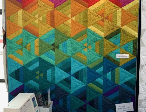 neuer Quilt mit Redux Stoffen von Giucy Giuce