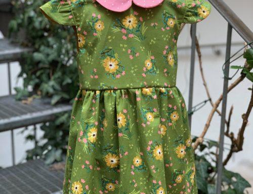 Mädchenkleid selbst genäht