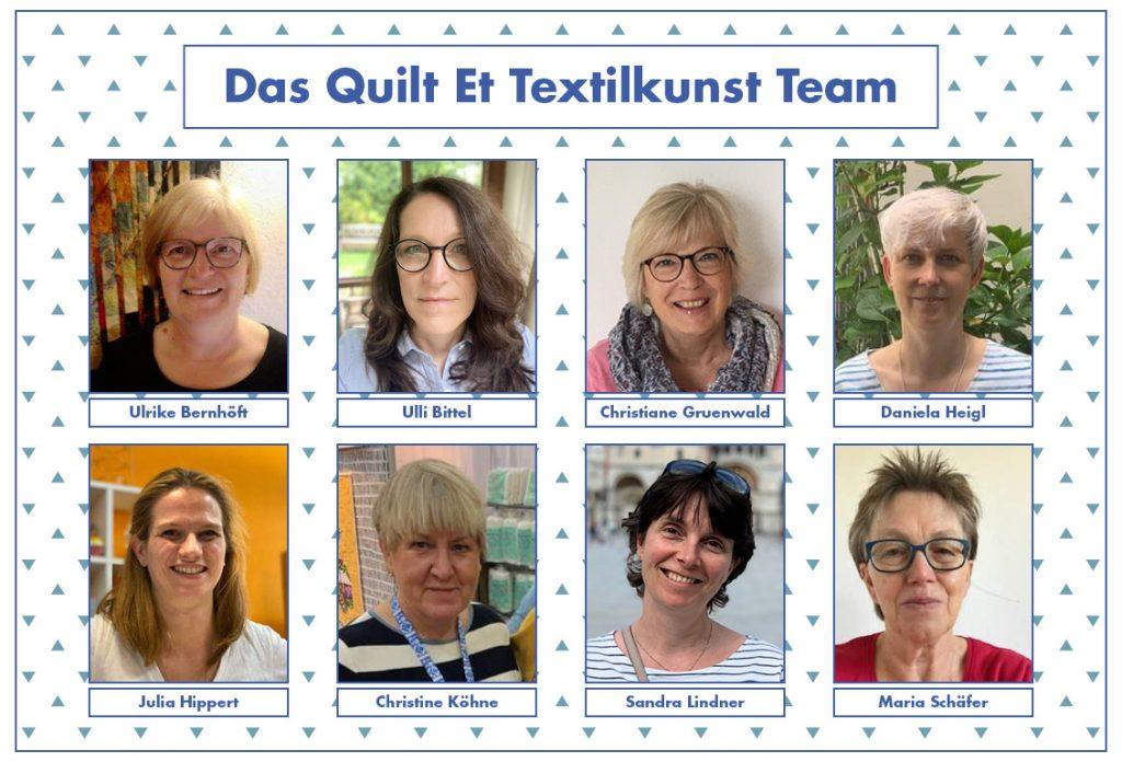 Das Quilt et Textilkunst-Team