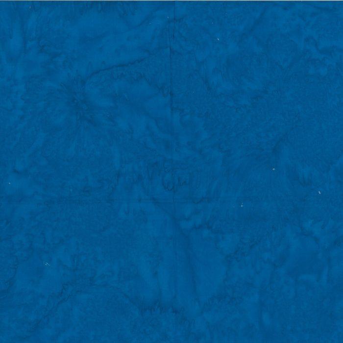 Batikstoff blau