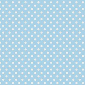 Punkte Hellblau Weiss