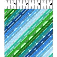 streifen grün blau