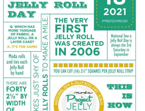 19. September –  Sew a Jelly Roll Tag mit 20 %